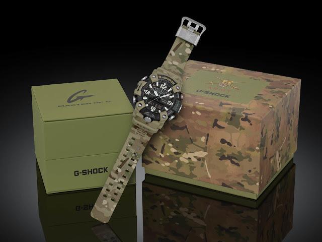 G-SHOCK To Release British Army X G-SHOCK MUDMASTER Collaborative Timepiece