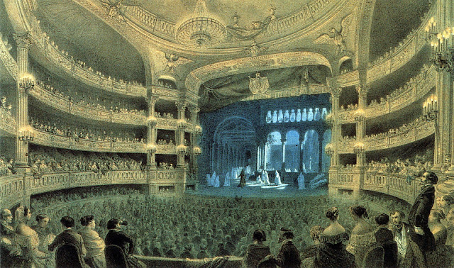 Meyerbeer's Robert le Diable at the Paris Opera (Salle Le Peletier) in 1832