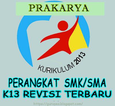 RPP K13 SMA/SMK Prakarya Kelas 11  Revisi 2018