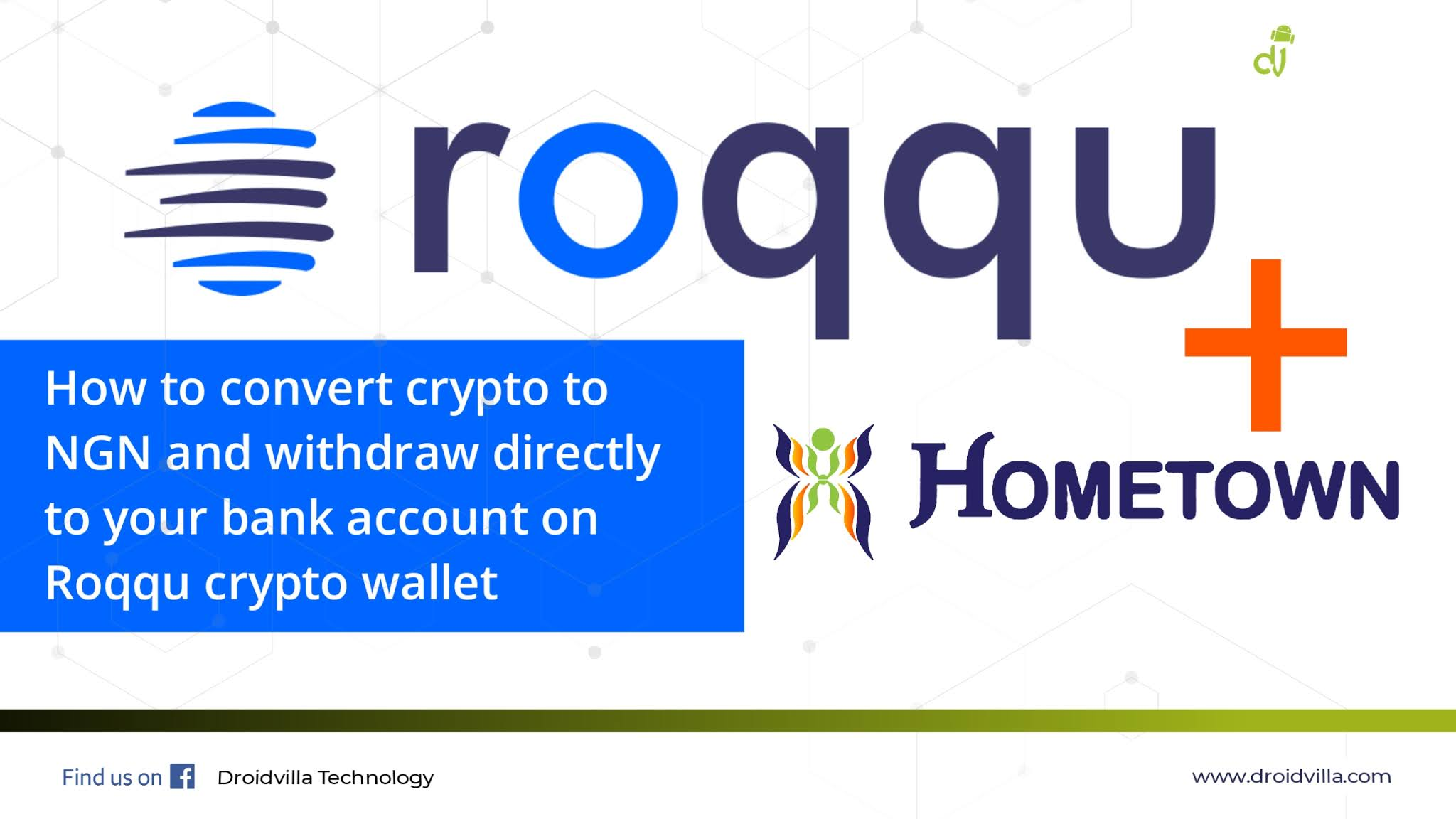 Roqqu Crypto and hometown