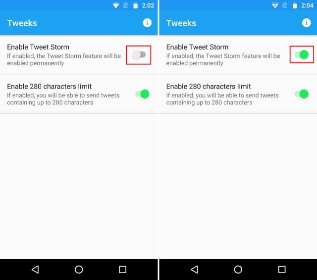How to Enable Tweet Storm Feature on Twitter App in Android