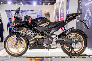 Yamaha R15 Gold Color HD Images Latest