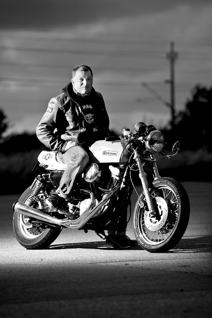 Mikes Bike & Leschners Rickman sportster – vcs