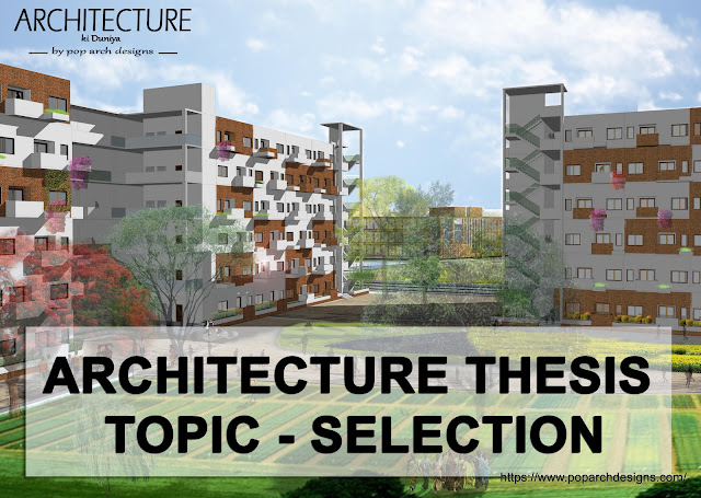 architecture thesis topic selection