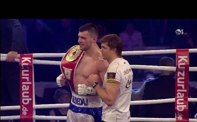Albanian boxer Juljan Uldedaj wins International German Championship in boxing