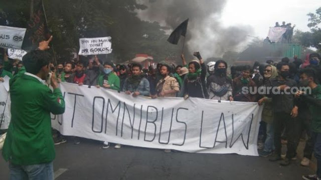 Tolak UU Ciptaker, Mahasiswa Se-Indonesia Bakal Gelar Demo Besar-besaran 8 Oktober