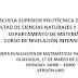 Solución Primera Evaluación de Matemáticas para Ingenierías - ESPOL - Intensivo 2016
