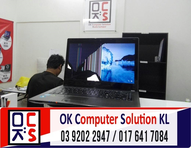 [SOLVED] SKRIN ACER ASPIRE 4750 CRACK | REPAIR LAPTOP CHERAS 1