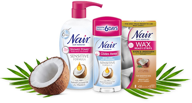 Go coco-nuts for Nair Sensitive Coconut!