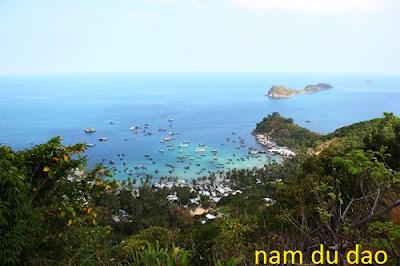 Nam Du - summer tourist paradise in Vietnam