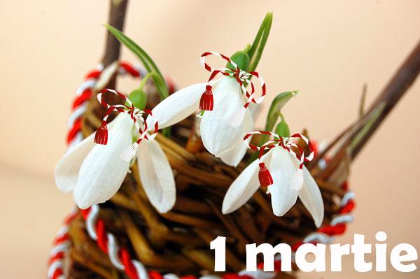 ghiocei 1 martie martisor