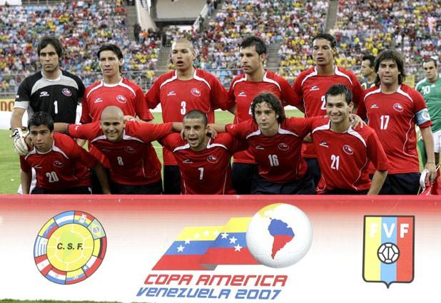 Formación de Chile ante México, Copa América 2007, 4 de julio