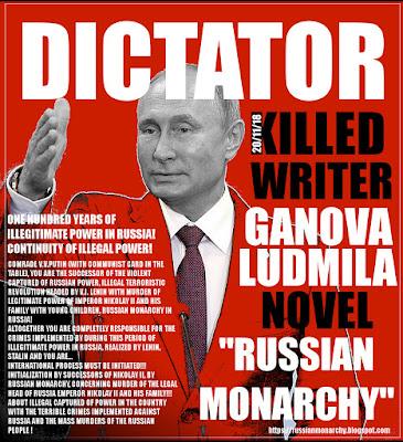Dictator Putin - Artcollage