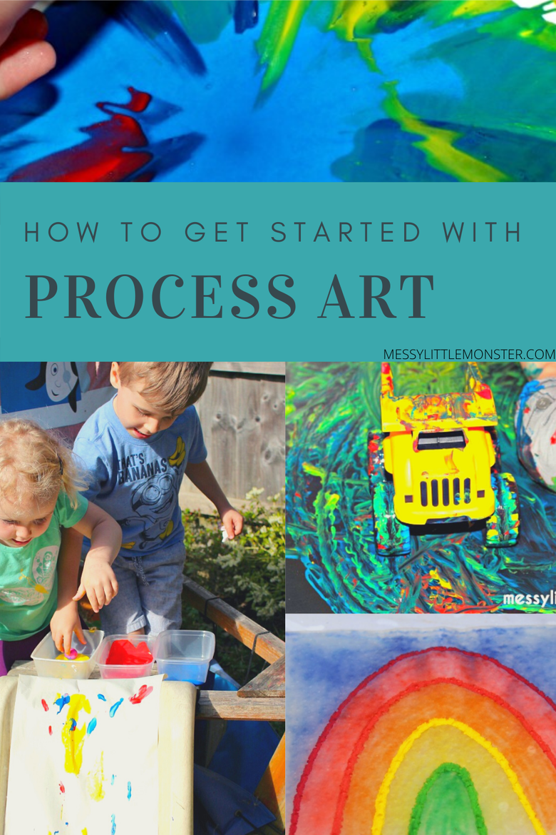 getting started with process based art