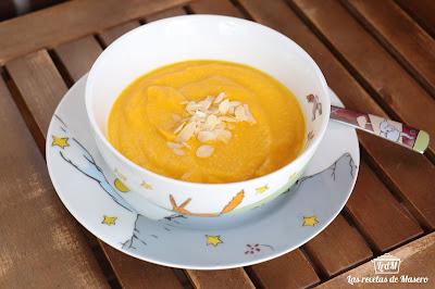 Crema De Zanahoria Y Manzana
