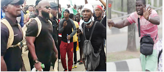 oodlums Attacks: Angry #EndSARS protesters hire bouncers in Lagos