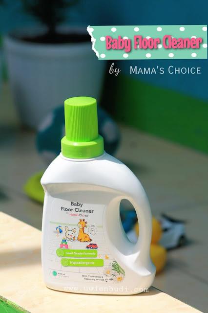 Review Mama's Choice Baby Floor Cleanser, Pembersih Lantai Anti Bakteri