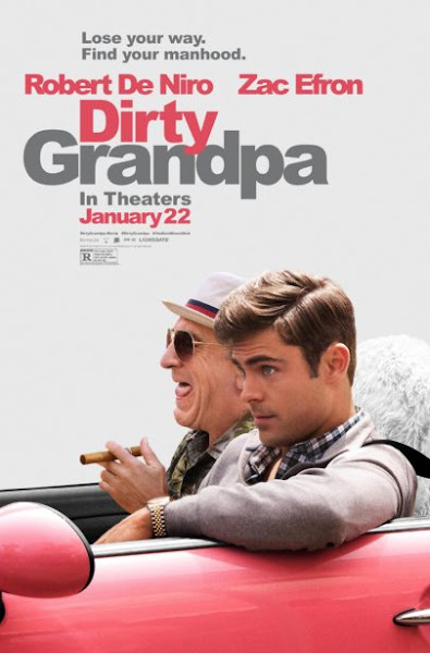 Poster Of Dirty Grandpa 2016 UnRated 720p HDRip Full Movie Download