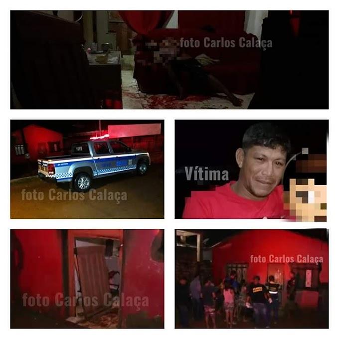 Homem é assassinado a tiros dentro de sua residência  em Altamira.