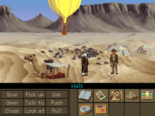 Indiana Jones and the Fate of Atlantis - Game Screenshot
