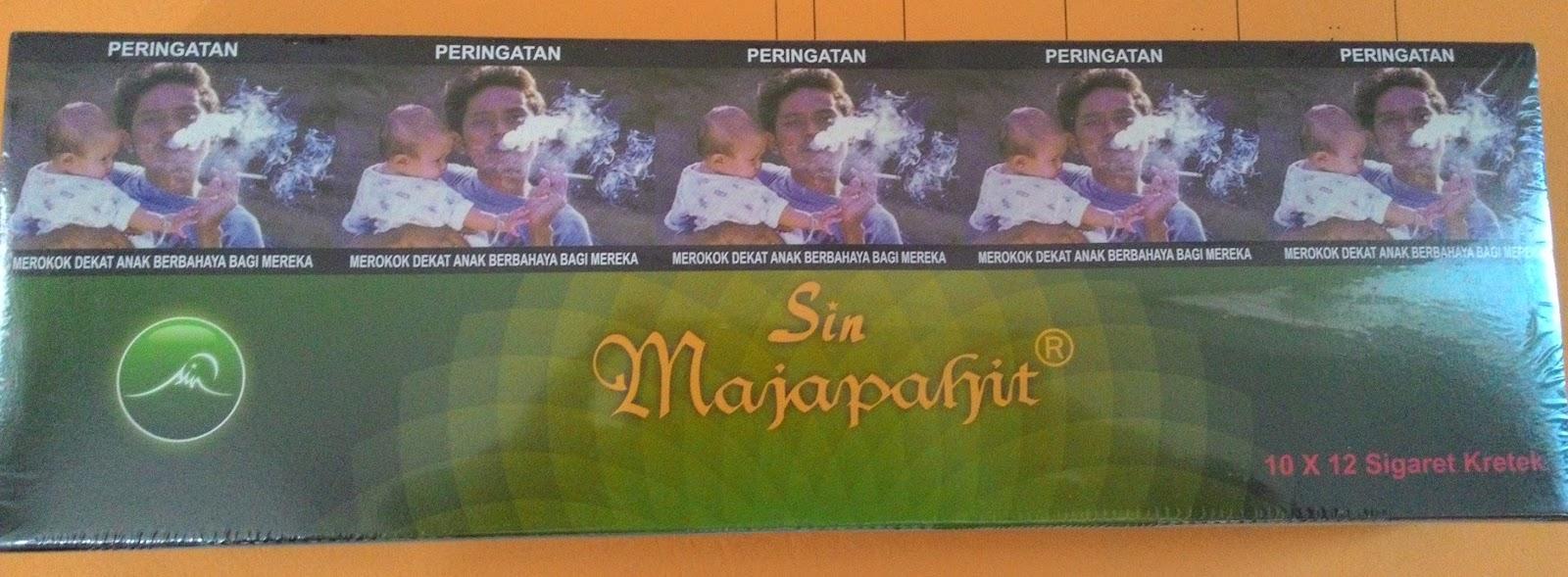 Sin Rokok Herbal Sehat Terapi Hebat Kita Hebal Mdl Mild Majapahit Superrkretek