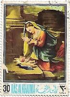 1968 - Selo Adoração do Menino Jesus