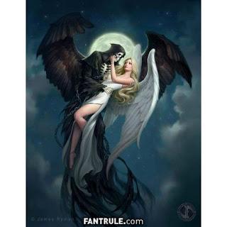 Imágenes de Ángeles y Demonios la muerte negra