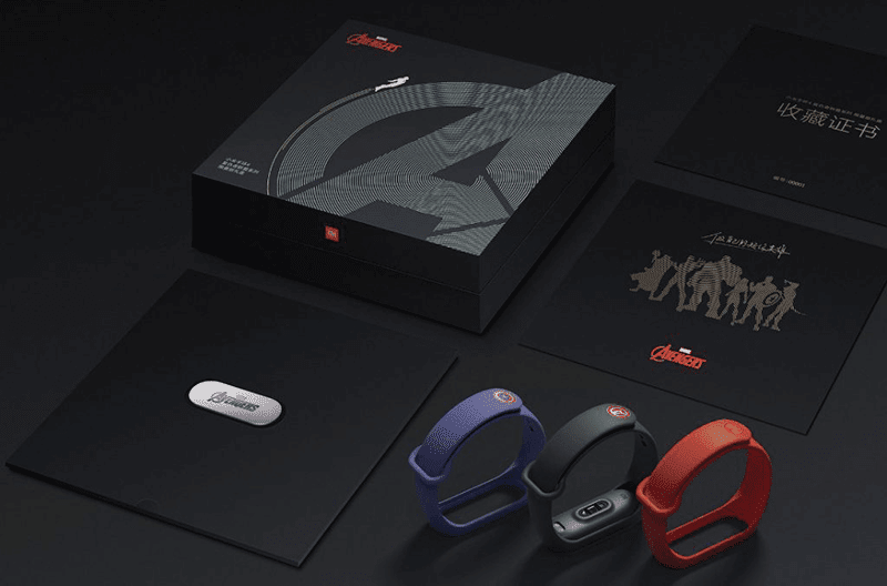 Mi Band 4 Avengers Limited Edition