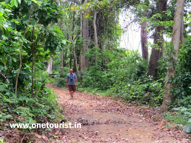 saddle peak trekking , andaman
