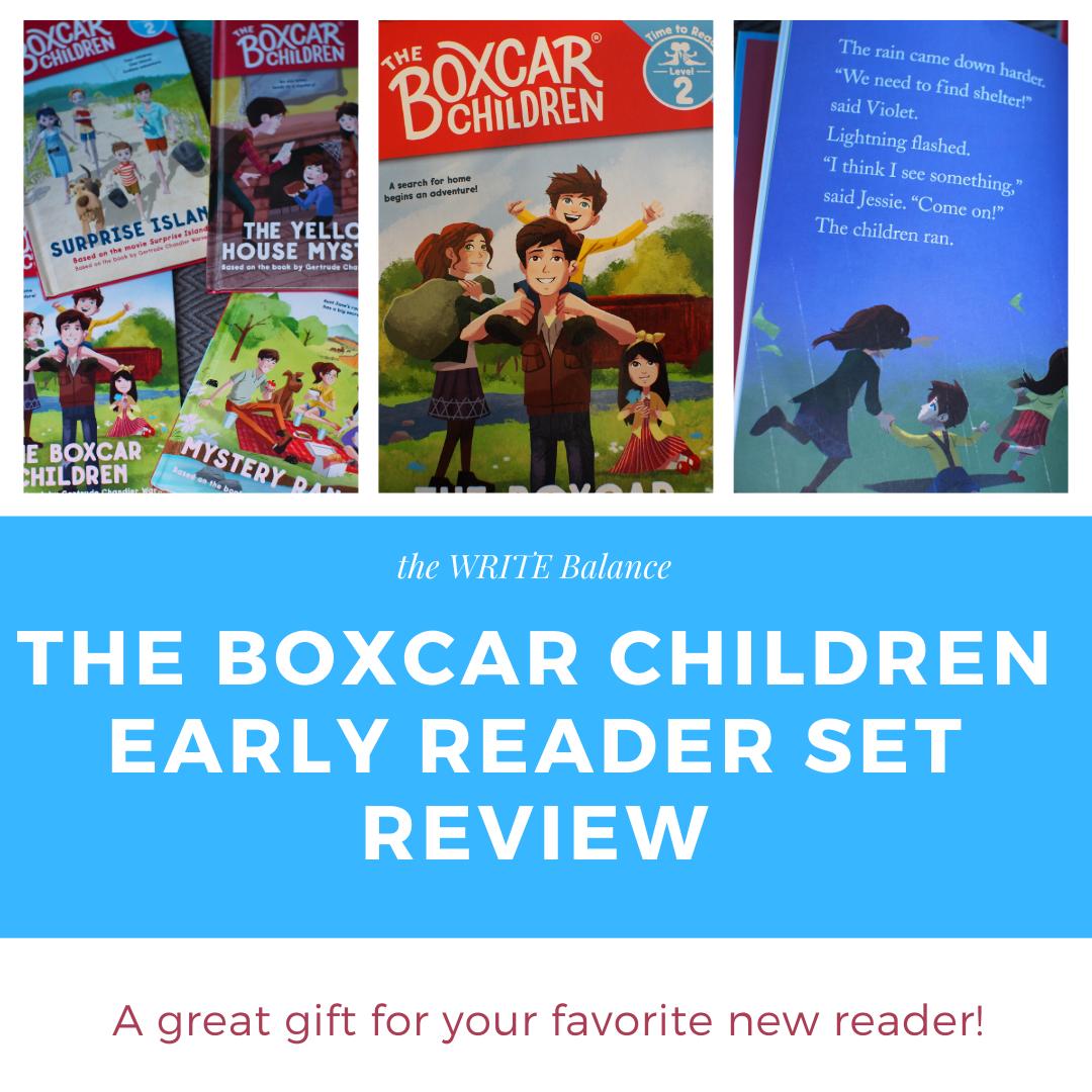 the WRITE Balance: The Boxcar Children Early Reader Set: An Albert