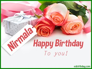 Happy Birthday Nirmala