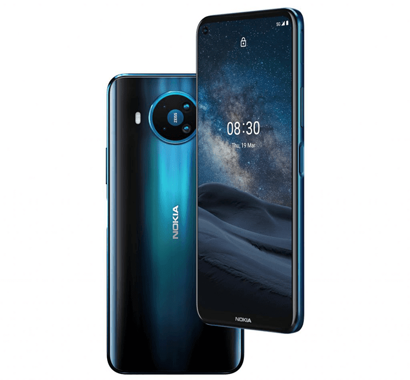Nokia 8.3 5G with 6.81-inch 120Hz screen and 64MP ZEISS cam now official