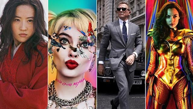 Filmes 2020 Lista Completa para não sair do Cinema