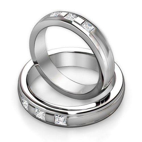 Cheap His And Her Wedding Ring Sets