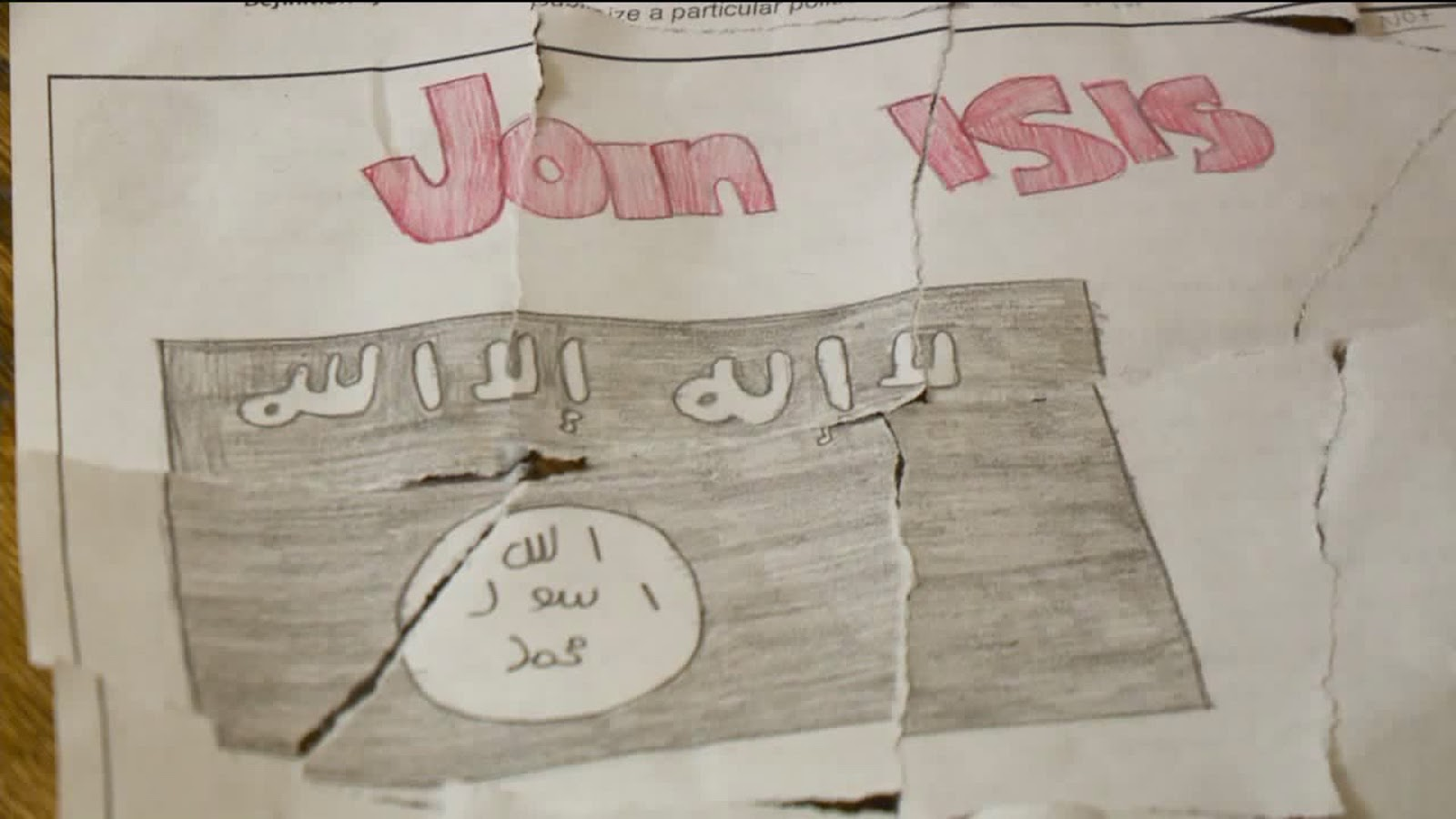 The Federalist Drawing Isis Propaganda Poster Is School