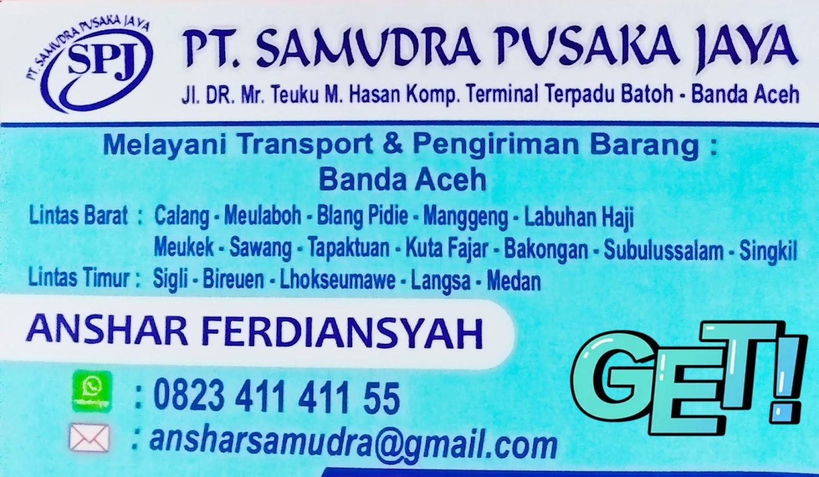 Pt Samudra Tour Travel Seluruh Aceh Transport Pt Samudra Tour Travel Banda Aceh