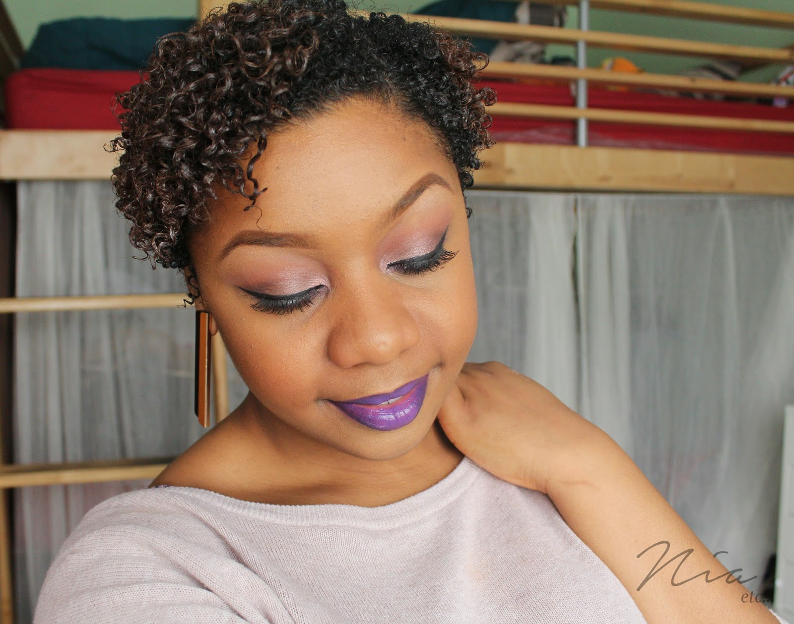 Pretty in Purple Make Up Look 5