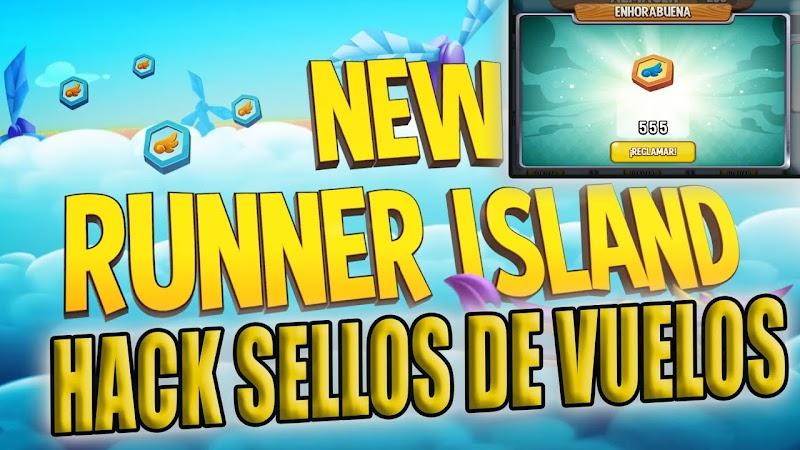 ISLA RUNNER HACK SELLOS DE VUELOS