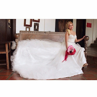 Yeng Constantino Wedding gown