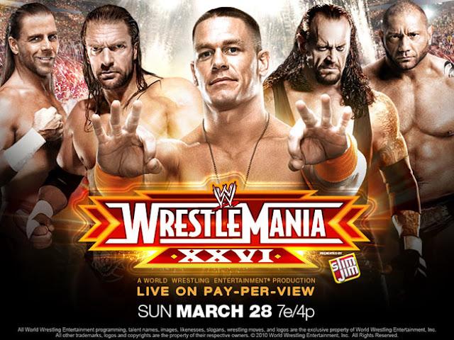 WWE - WrestleMania 26