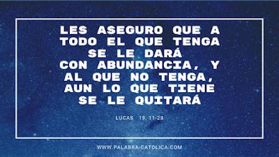 Evangelio del Día Miercoles 20 de Noviembre - Lectura y Salmo de hoy