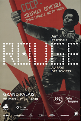 """L'art soviétique bouillonnant des années 20 jusqu'à 1953, nous est conté dans l'exposition """"Rouge, art et utopie au pays des soviets"""""""