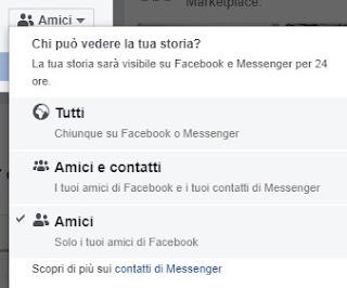 Storia Facebook