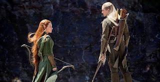 Tauriel y Legolas, El Hobbit