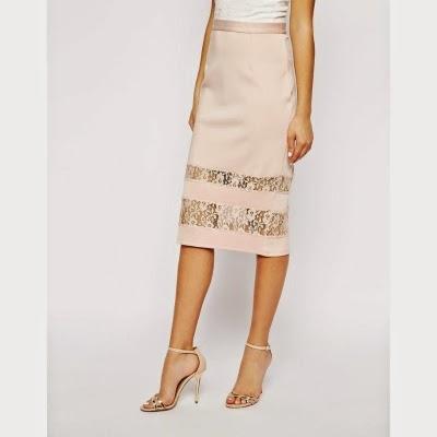 La jupe droite