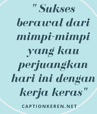 kata kata motivasi sukses singkat