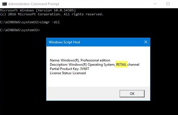 Cara Mengetahui Jenis Lisensi Windows pada Laptop Anda