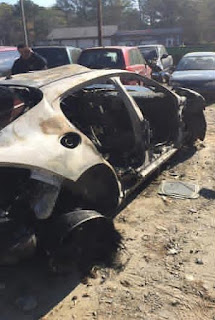 Photos: Instagram User Narrates How He Escaped Unhurt From Ghastly Accident