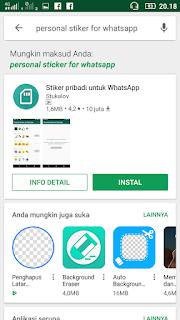 Cara bikin stiker sendiri di WhatsApp