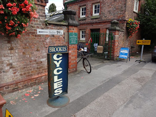 The Cycle Museum at Walton Hall and Gardens in Warrington